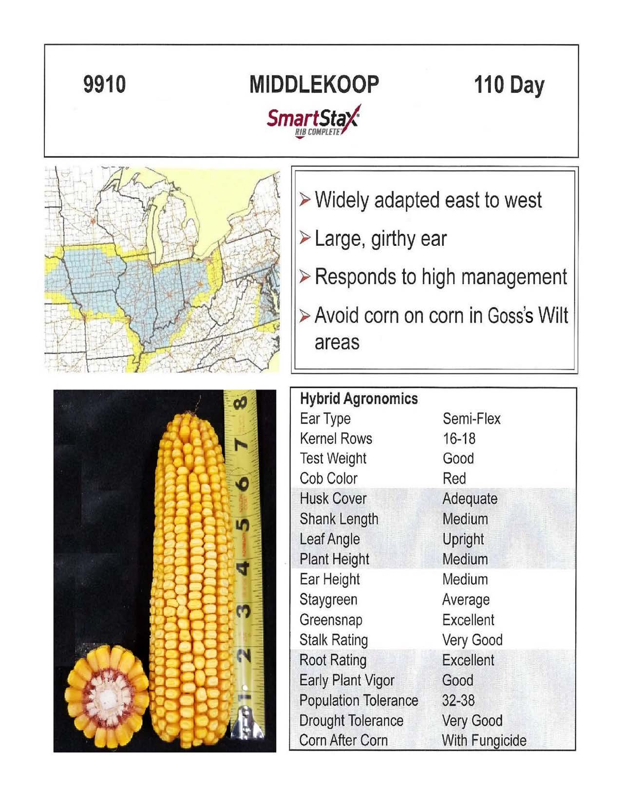 9910 Smartstax — Middlekoop Seed